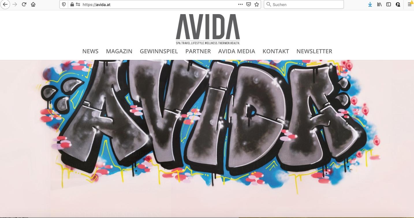 avida - Web-Design
